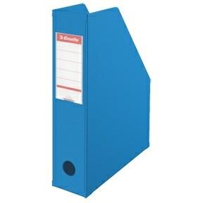 Tidsskriftholder A4 Esselte med 70 mm ryg - Blå