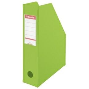 Tidsskriftholder A4 Esselte med 70 mm ryg - Grøn