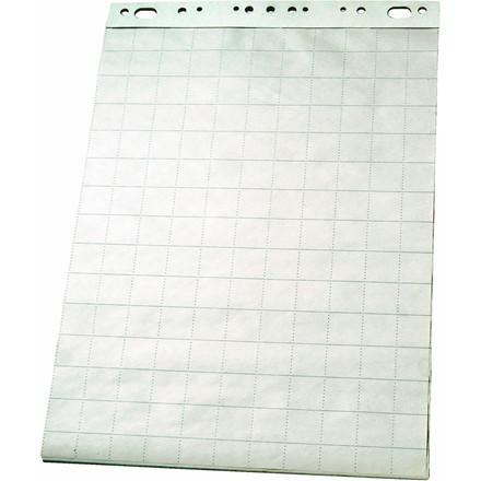Flipover papir 85 x 60 cm - kvadreret ark Esselte 96551 - 50 ark