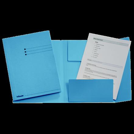 Arbejdsmappe A4 med 3 klapper Esselte 44224 - Blå