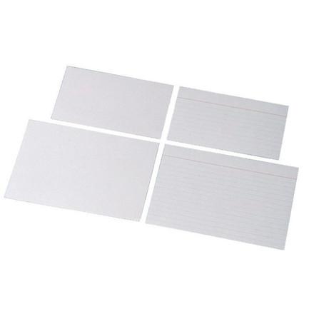 Esselte kartotekskort linieret 75 x 125 mm - 100 stk i pakke