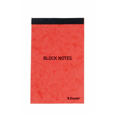 Esselte Notesblok linieret - Orange 130 x 80 mm toplimet 45553 - 50 ark
