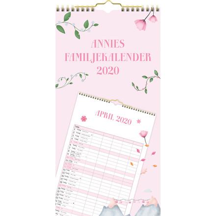 Familiekalender Annies 22x43cm 20 0660 00