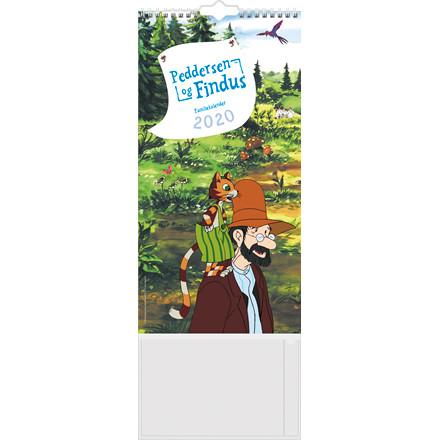 Familiekalender Peddersen/ Findus 22x43cm 20 0663 90