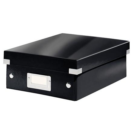 Leitz Click & Store opbevaringskasse 22 x 10 x 28,5 cm - Sort