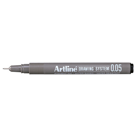 Fiberpen Artline EK2305 sort 0,05mm