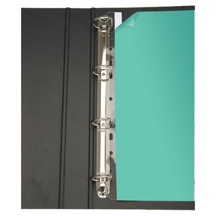 Selvklæbende plastindsats til A5 mapper 135 mm - 50 stk i pose