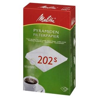 Filterposer pyramide 202 - 100 stk. i pakningen