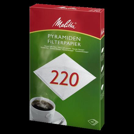 Filterposer pyramide 220 - 200 stk. i pakningen
