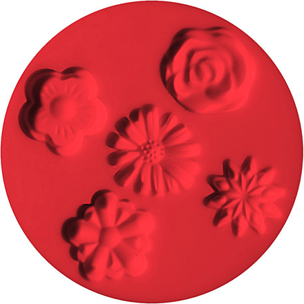 FIMO® forme, diam. 7 cm, blomster, 1stk.