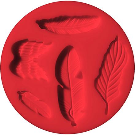 FIMO® forme, diam. 7 cm, fjer, 1stk.