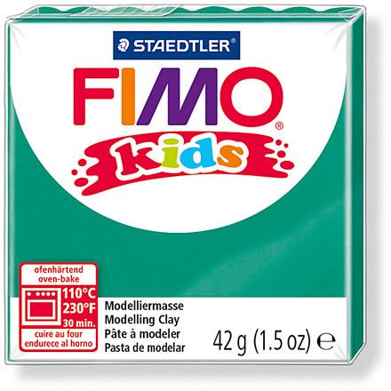 FIMO® Kids ler 42 gram - grøn