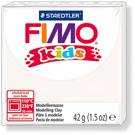 FIMO® Kids ler hvid - 42 gram