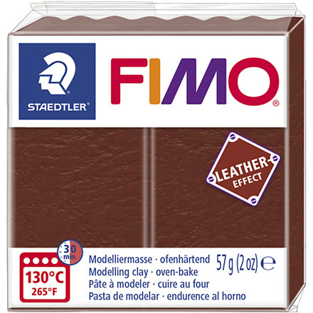 FIMO® Leather Effect , nut (779), 57g