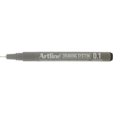 Fineliner Artline EK231 0,1mm sort