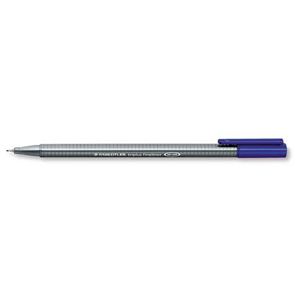 Fineliner Staedtler triplus blå 0,3mm 334-3