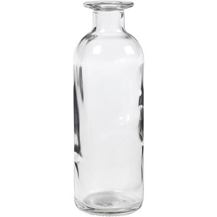 Flaske Højde 16 cm diameter 5,5 cm 235 ml   6 stk.