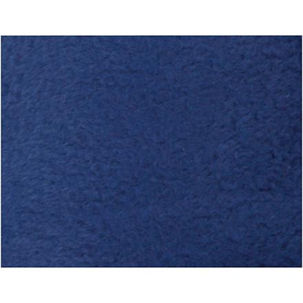 Fleece længde 125 cm bredde 150 cm blå   200 g/m2