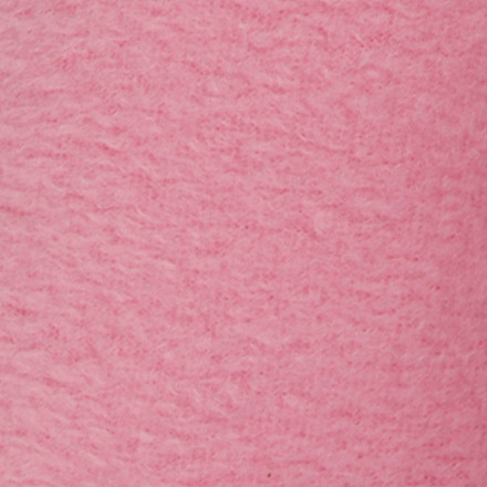 Fleece længde 125 cm bredde 150 cm lys pink | 200 g/m2