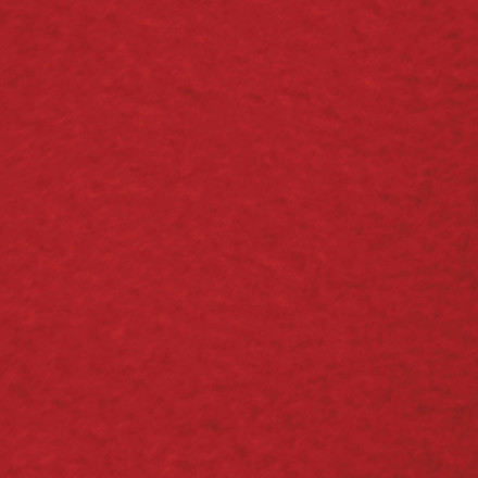 Fleece - Længde 125 cm - Bredde 150 cm - rød - 200 gram pr. m2