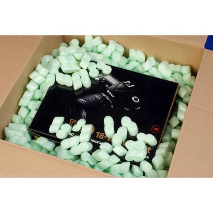 Flo-pak pakkefyld i grøn antistatisk - 500 liter posen