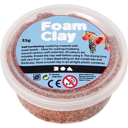 Foam Clay®, brun, 35g