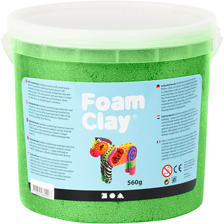 Foam Clay® grøn metallic | 560 gram