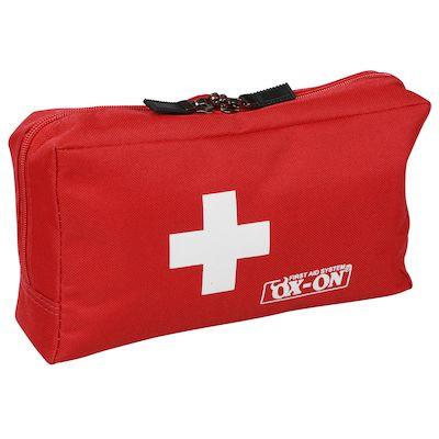 Førstehjælpstaske, Ox-on, rød