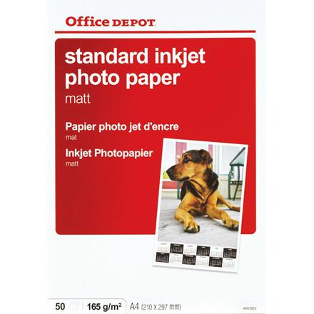 Fotopapir - inkjet A4 OD 165 gram Matt - 50 ark