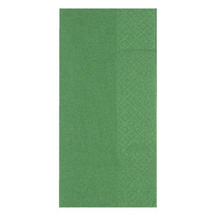 Frokostserviet, Gastro-Line, 2-lags, 1/8 fold, grøn, 100% nyfiber, 33cm x 33cm