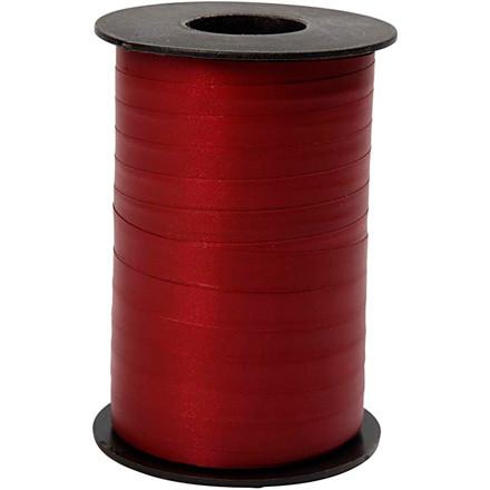 Gavebånd bredde 10 mm mørk rød mat | 250 meter