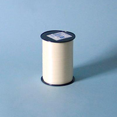 Gavebånd - glat creme 10 mm x 250 meter nr. 21 5 ruller i en pakke