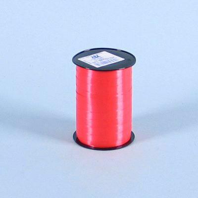 Gavebånd - glat i rød 5 mm x 500 meter nr. 33 5 ruller i pakken