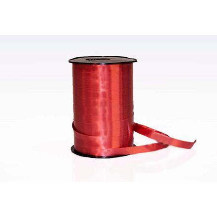 Gavebånd - i glat vinrød 1 cm x 250 meter, nr. 27 5 ruller i pakken
