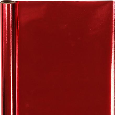 Gavepapir rød Bredde 50 cm, 65 gram - 4 meter