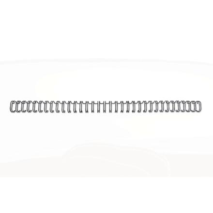 GBC Wire ryg 3:1 NO4 6mm A4 sort (100)