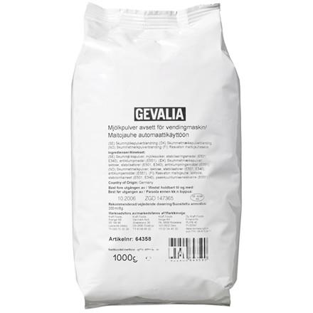 Gevalia mælkepulver til automater - 1 kg pose