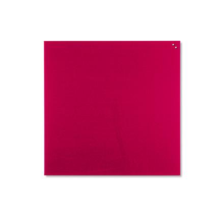 Glas tavle Naga - magnetisk 100 x 100 cm rød