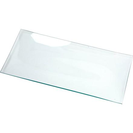 Glasfad 27 x 13 cm aflang - 12 stk.