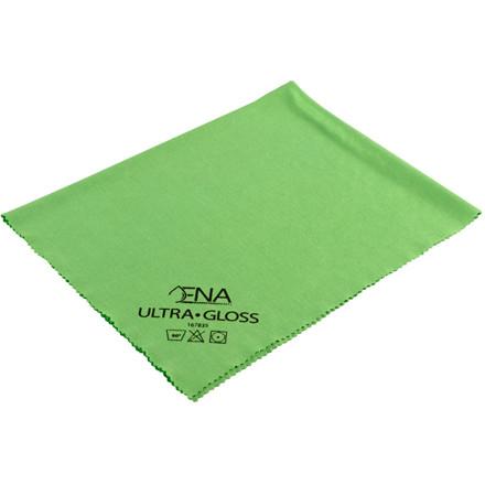 Glasklud, grøn, 80% polyester, 20% polyamid, 40x40 cm