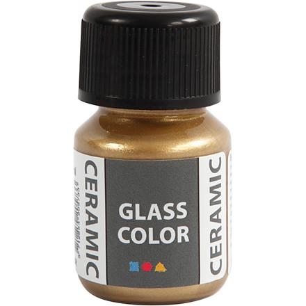 Glass Ceramic, guld, 35ml