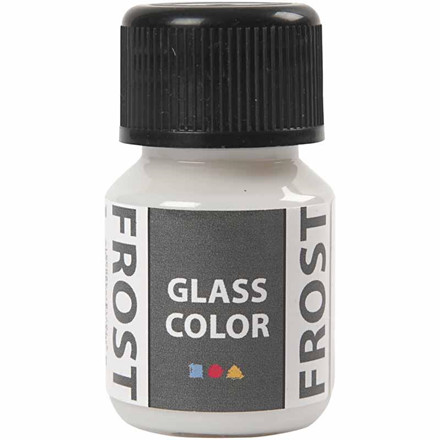 Glass Color Frost, hvid, 35ml