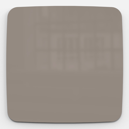 Glastavle - Lintex Mood Flow 100 x 100 cm - Cozy
