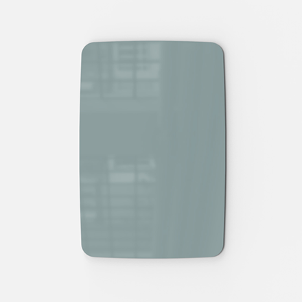 Glastavle - Lintex Mood Flow 100 x 150 cm - Frank