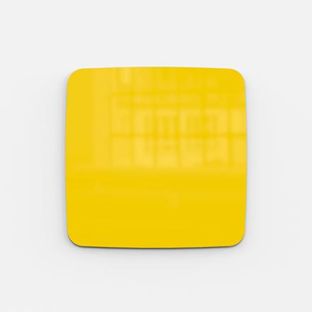 Glastavle - Lintex Mood Flow 50 x 50 cm - Happy