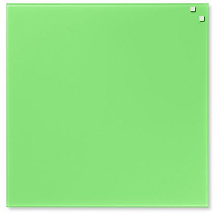 Glastavle magnetisk - Naga 45 x 45 cm limegrøn