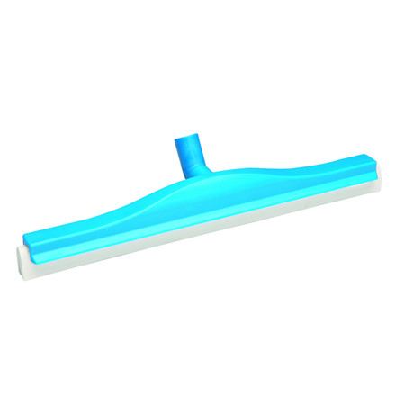 Gulvskraber, Vikan Hygiejne, blå, med drejeled, 50 cm