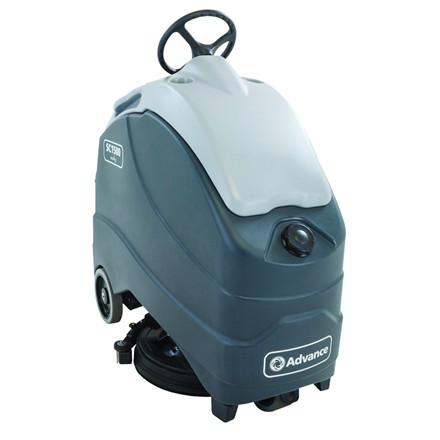 Gulvvasker, Nilfisk SC1500, med indbygget lader, 105A gel batteri, Ecoflex og børste, vaskebredde 51