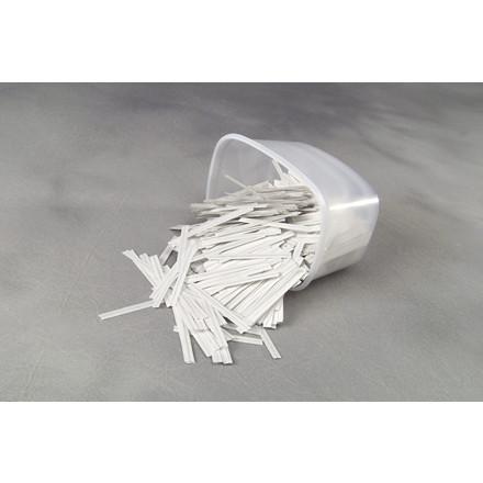 Gun clips hvide 125 mm - 1000 stk pakken 1466