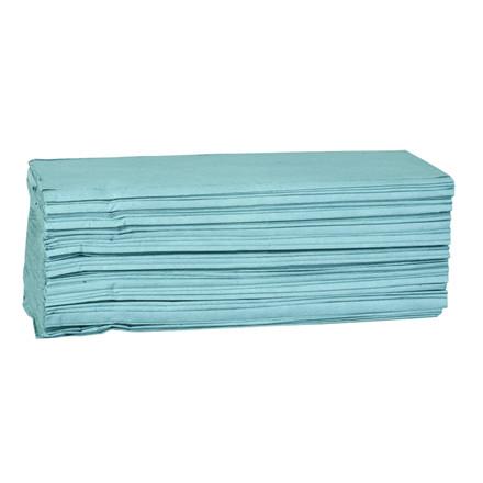 Håndklædeark 1-lags blå Bredde 25 cm - Længde 23 x 11,50 cm